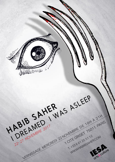 exposition I dreamed I was asleep Habib Saher