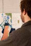 L'ABC de la peinture au Dupont Café Alejandro Parisi