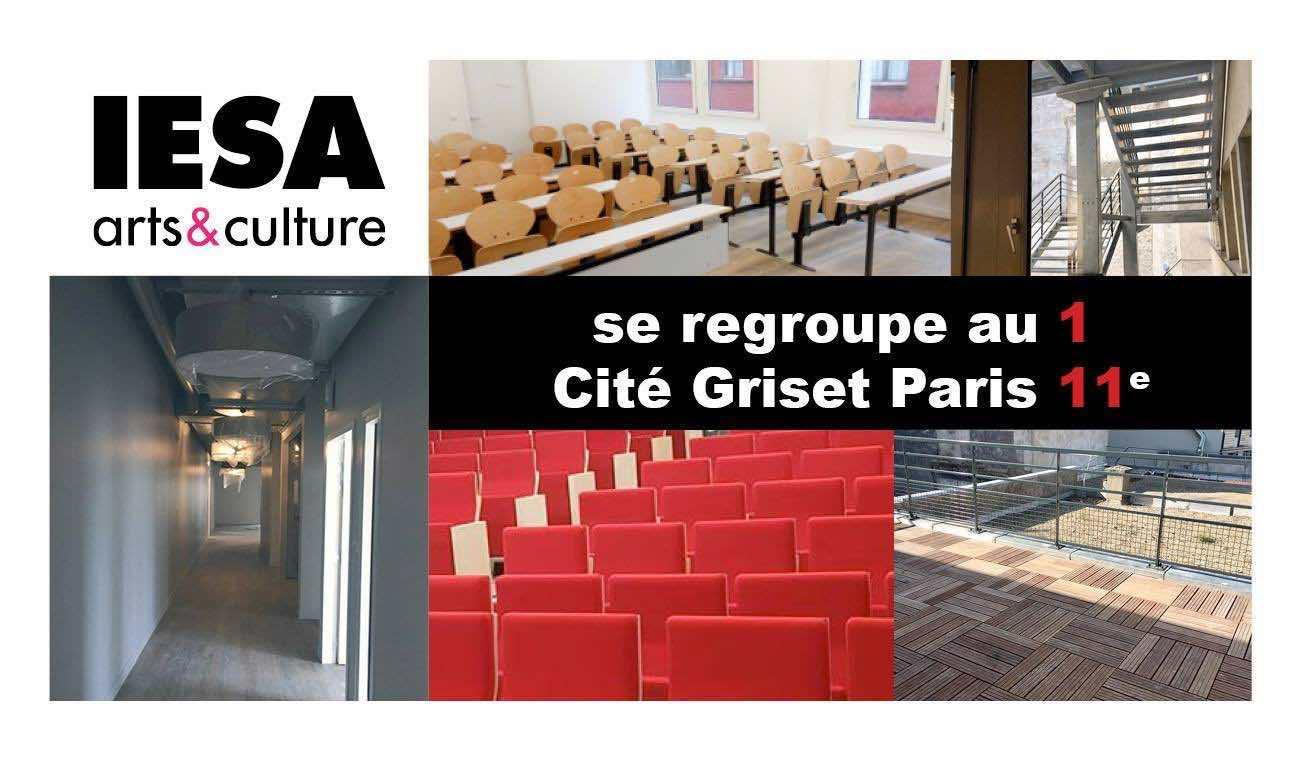 nouveau campus Cité Griset