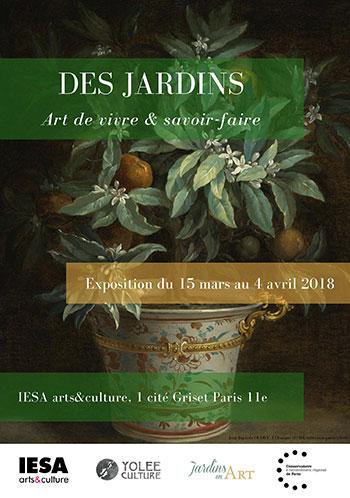 exposition Des jardins, art de vivre et savoir-faire