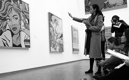MBA in Contemporary art: sales, display and collecting bac+5