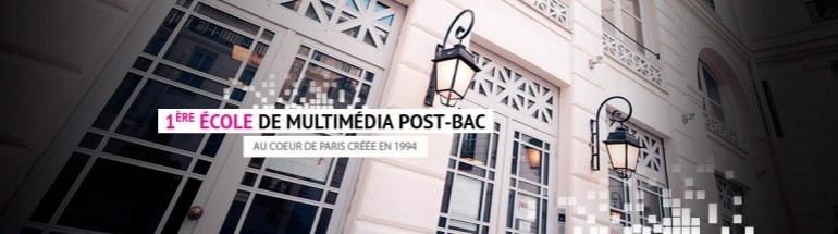 IESA Multimédia - Formation digital Paris