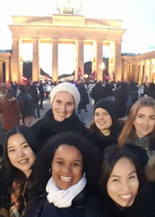 Les étudiants de MBA Arts and cultural management en voyage à Berlin