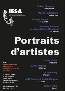 cycle de conférences demosthenes davvetas portraits d'artistes
