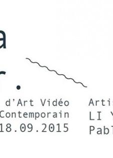 Réalisation étudiante Mastère professionnel Marché de l'art - Exposition Je suis vague comme la mer