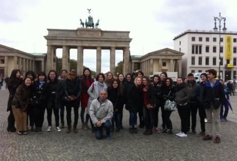 voyage berlin étudiants bachelor iesa arts&culture