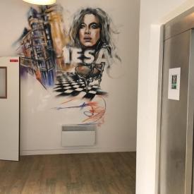 locaux Cité Griset IESA Arts&culture